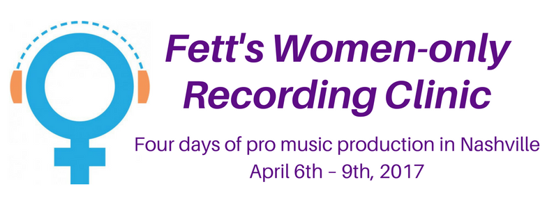 Fett's Women-only Recording Clinic FB cover size