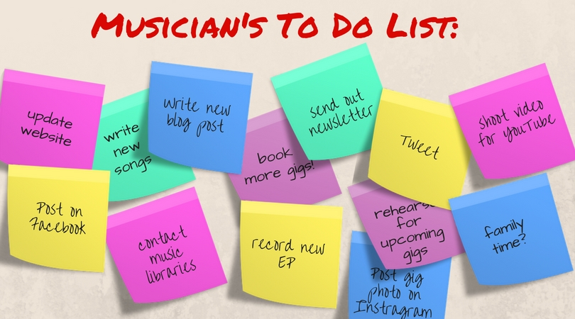 DIY Musician's Dilemma: How Do I Get It ALL Done?!